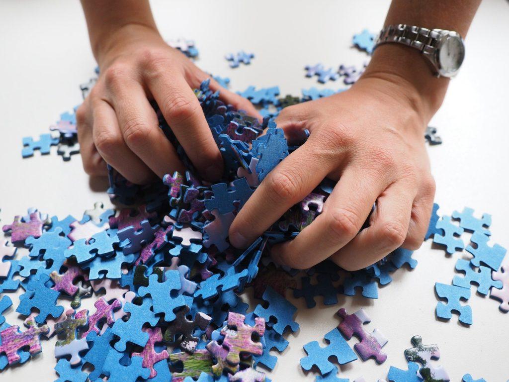 puzzle para tratar la frustración en el tratamiento de adicciones
