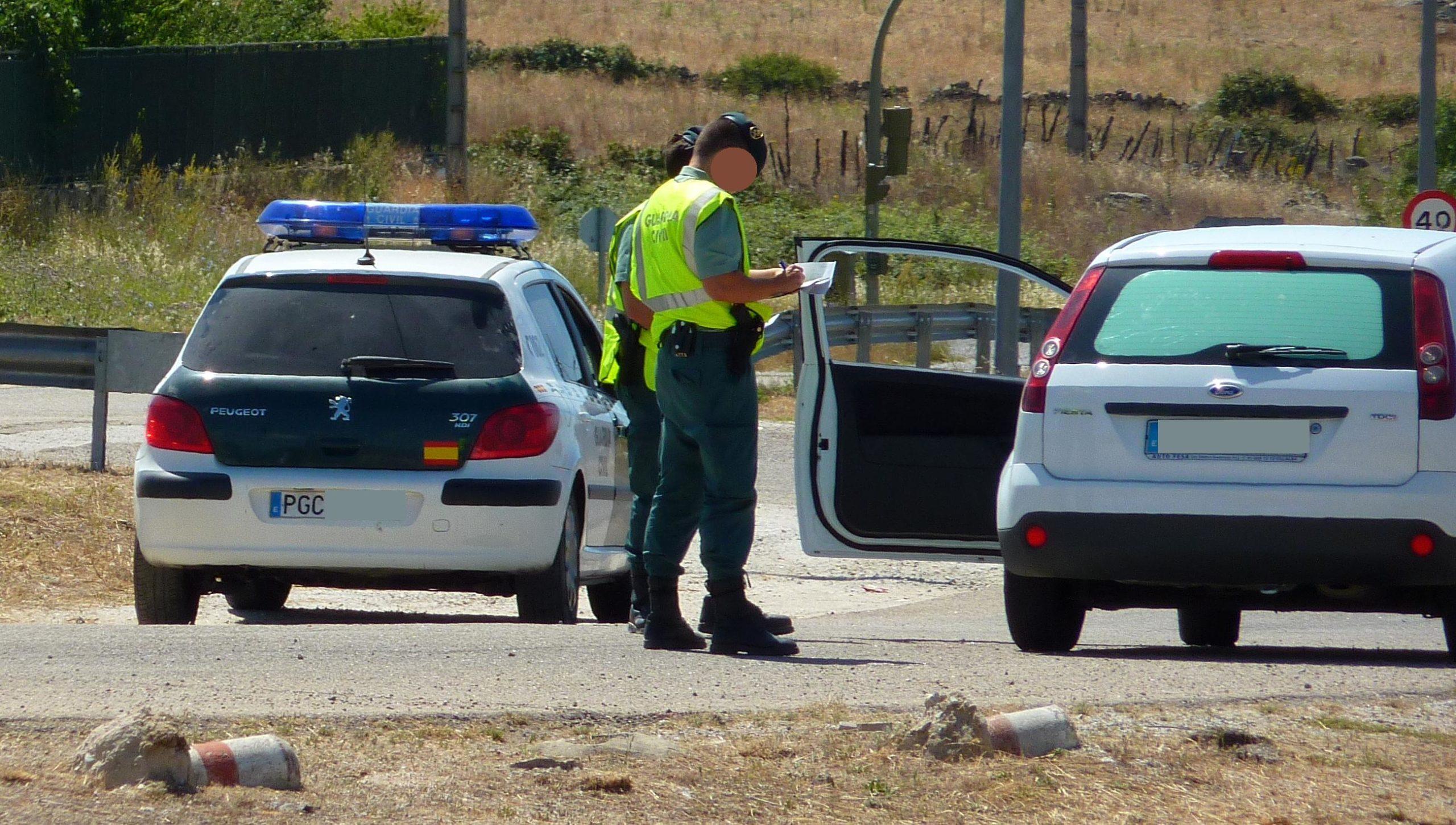 cuánto dura la droga en el cuerpo - control guardia civil